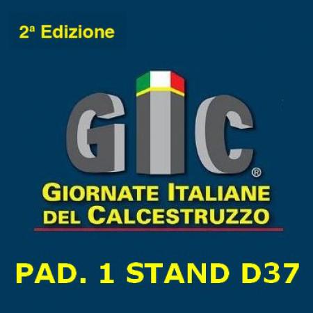 Giornate Italiane del Calcestruzzo, 08-10 Novembre 2018 – Piacenza