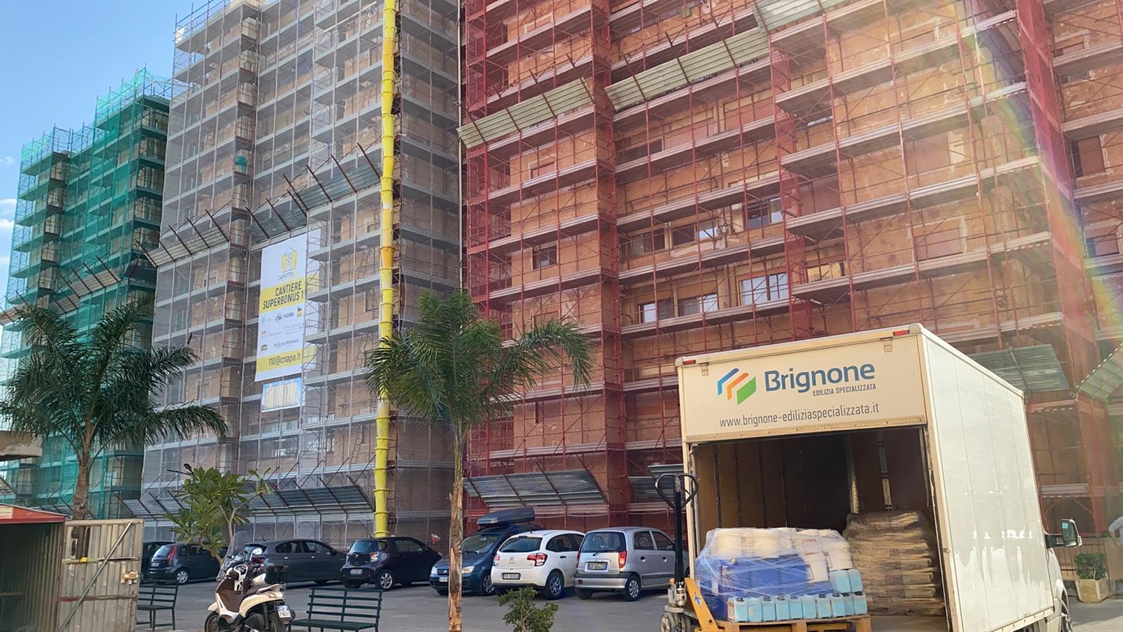 Bonus 110%, a Palermo si inaugura il primo grande cantiere Al via lavori per quattro milioni: