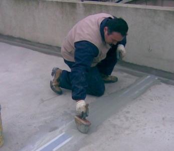 OSMOCEM FLEX – Impermeabilizzazione di una terrazza con composti cementizi plasto-elastici