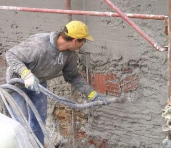 CALEOSANA – Risanamento di una muratura con intonaco deumidificante