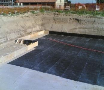 CLAYTEX – Impermeabilizzazione di un locale interrato con teli bentonitici