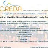 """C.RE.D.A.  BRIGNONE EDILIZIA SPECIALIZZATA  """"Nuovo codice appalti"""""""